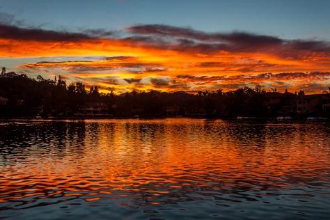 Westlake Village Sunset2
